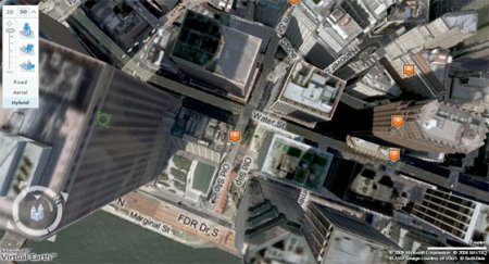 Microsoft Live Search Maps 3D Images