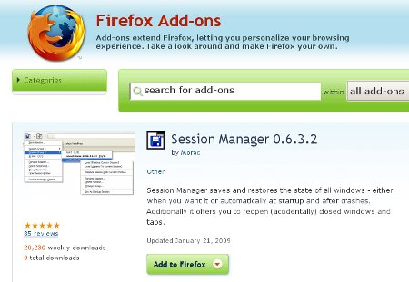 firefox-session-manager