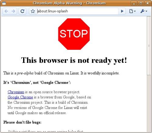 google-chromium-pre-alpha-per-linux