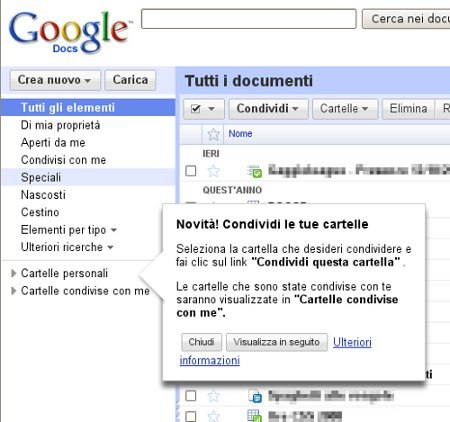 google-docs-cartelle-condivise