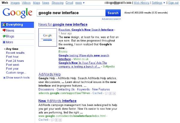 google-search-nuova-interfaccia-risultati